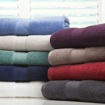 Toalhas de banho em felpo liso