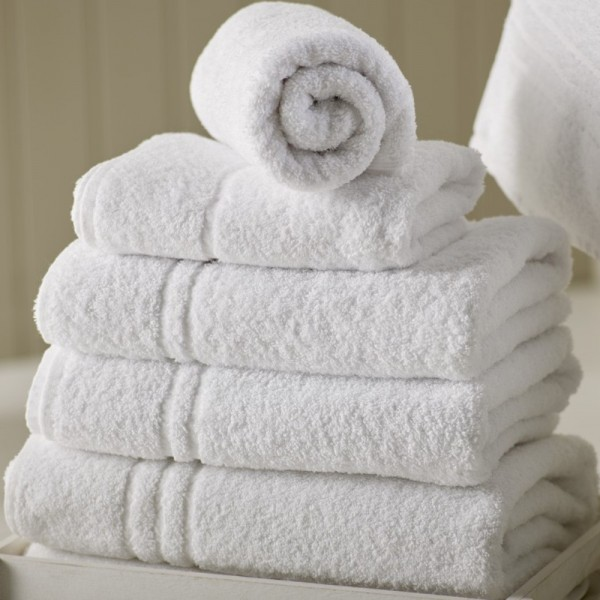 Bath towels, face towels, hand towels, guest towels in terry 100% cotton