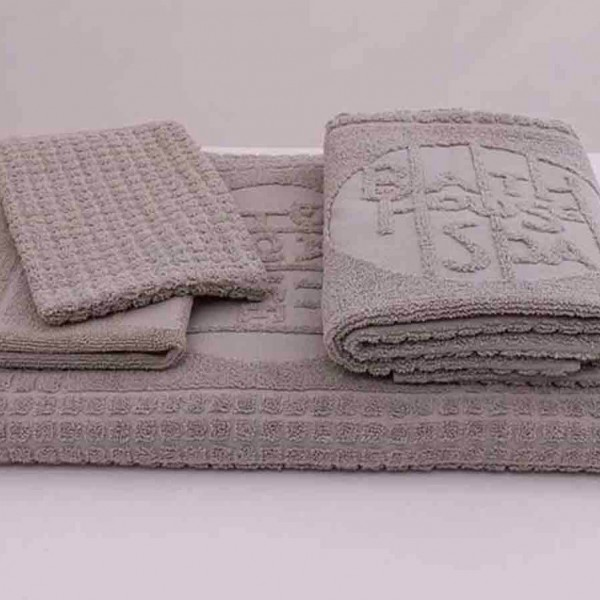 Spa towel - jacquard with logo