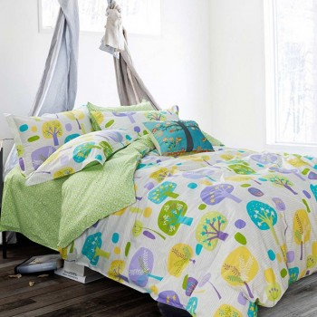 Duvet Cover - Printed, Pillow Cases, Decorative Pillows, Flat Sheet - Printed, Fitted Sheet