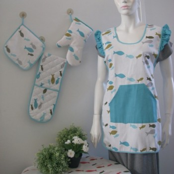 Tablecloth, Glove, Pot holder, Kitchen Towel, Chair pad, Napkin, Table runner.