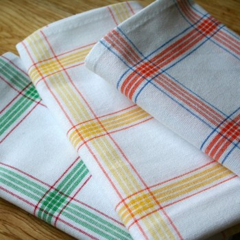 Jacquard kitchen towels