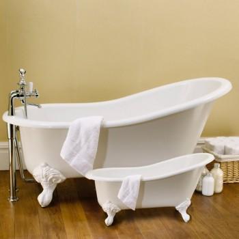 Toalha de banho branca com barra jacquard