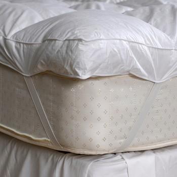 Protetor de colchão acolchoado.