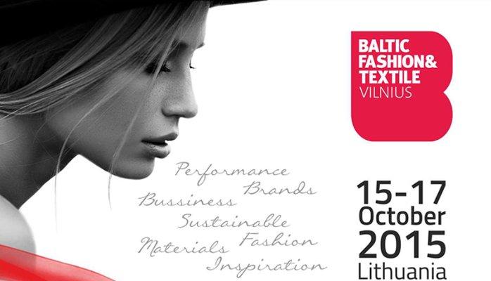 Baltic Fashion & Textile- 15 a 17 outubro 2015